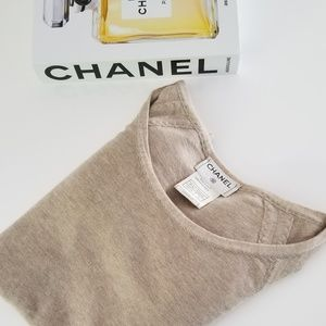Chanel Cashmere/Silk Top